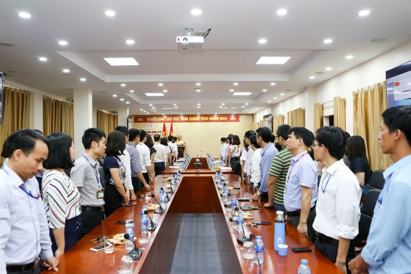Công bố quyết định thành lập Đảng bộ  bộ phận Khoa Công Trình