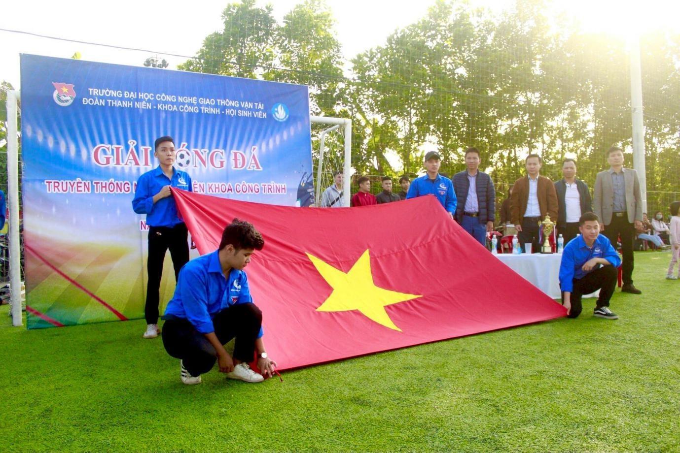 Giải bóng đá truyền thống nam Sinh viên Khoa Công trình lần thứ 8