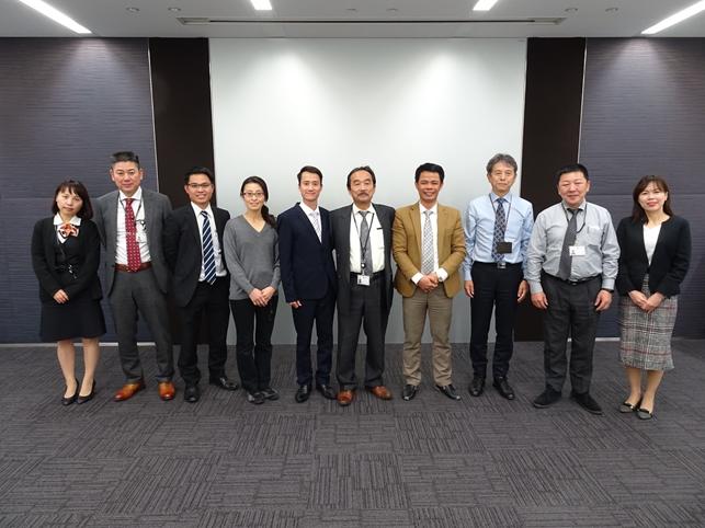 Giảng viên khoa Công trình học tập bồi dưỡng ngắn hạn tại Nhật Bản