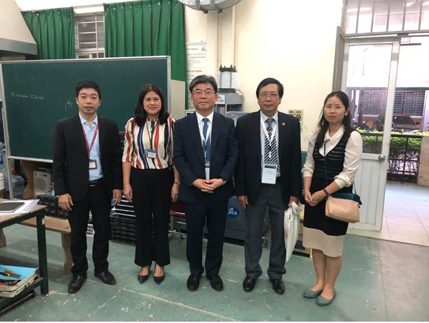 Tiếp và làm việc với Giáo sư Seokwon JEON đến từ trường Đại học Quốc gia Seoul, Hàn Quốc